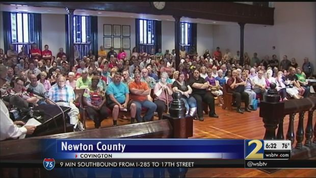 Residents of Newton County, voice their oppositions to a proposed mosque2.jpg