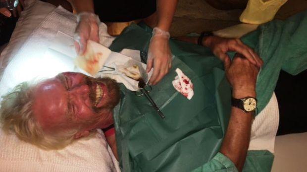 Sir Richard Branson cheats death3