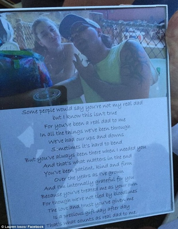 Touching poem that Lauren included among the adoption papers