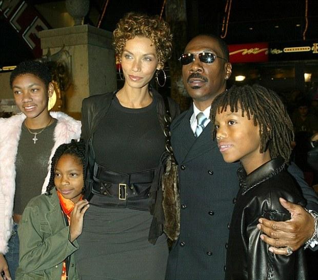 Nicole, Eddy Murphy and their 5 kids1