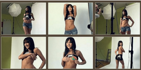 Racy images of Isabelle, who could receive a life sentence if convicted of being a drug mule, have now emerged.png