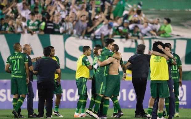 brazils-chapecoense-celebrate-at-the-end-of-a-copa-sudamericana-semifinal-match-against-argentinas-san-lorenzo-earlier-this-week