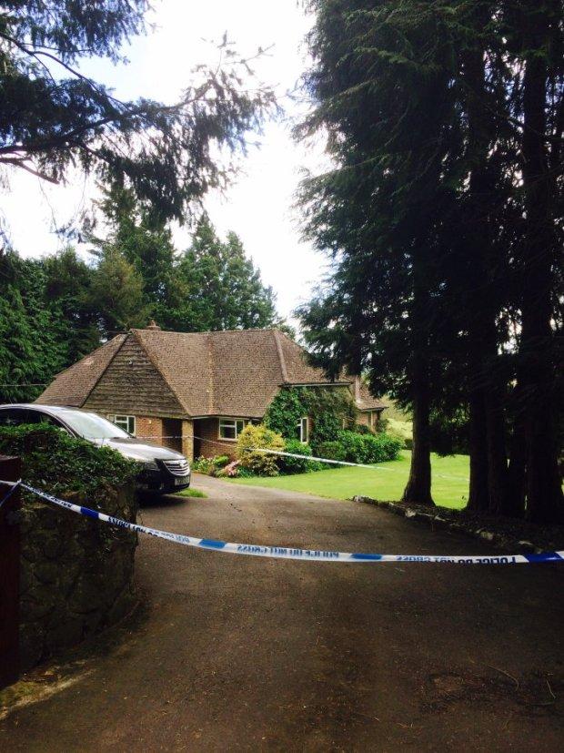 Graham and Jane Mccartney were found in this detached bungalow in the village of Dalwood, Devon.jpg