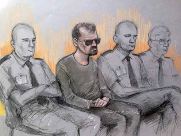 sketch of Stefano Brizzi in the dock at London's Old Bailey, London1.jpg