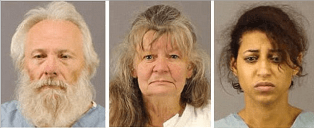 Victims' parents Bruce Leonard and Deborah Leonard, their half-sister, Sarah Ferguson1.png