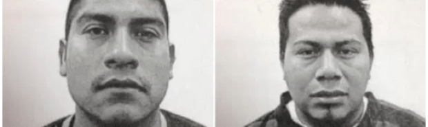 Victim's Urbano Morales-Santiago (left) and Hector Guitierrez are still missing, presumed dead.png