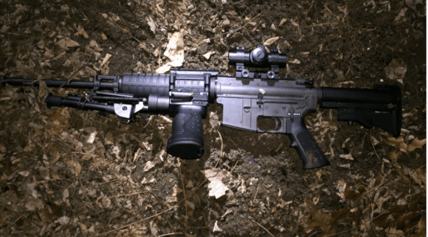 AR-15 semi-automatic rifle, allegedly dropped by Jonathan Drbyshire.png