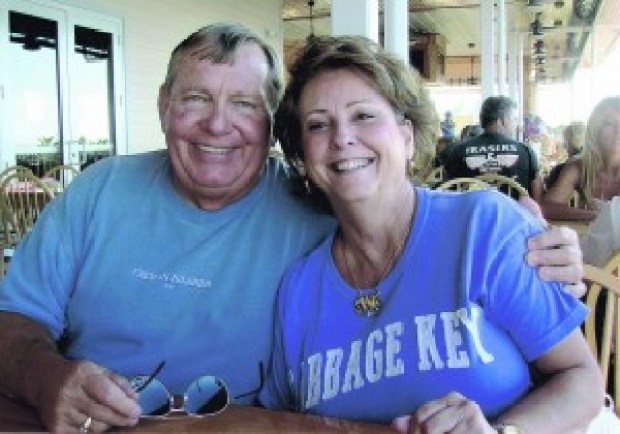 William B. Van Note [right] with girlfriend Sharon Dickson2.jpg