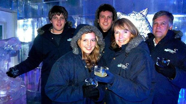 Martin and Teresa Van Breda and their son Rudi were subjected to the horror attack from their other son Henry stands back left 1