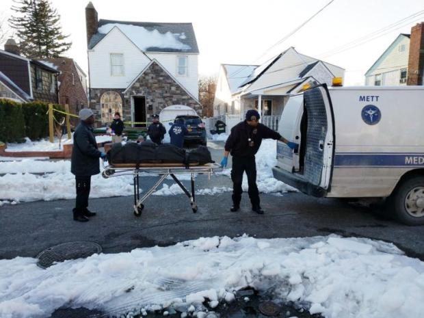 Remains of Maria Palaguachi taken from the family home in Queens NY, Thursday.jpg