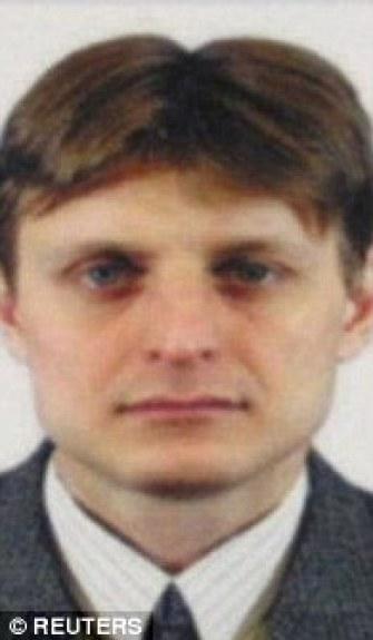 Russian spy Igor Sushchin 1