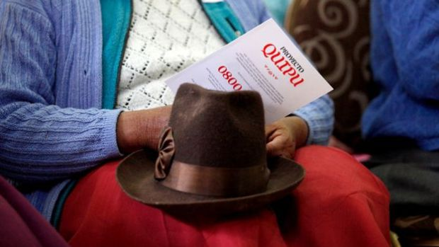 Under the Quipu project, people across Peru can use a free telephone line to share their stories2
