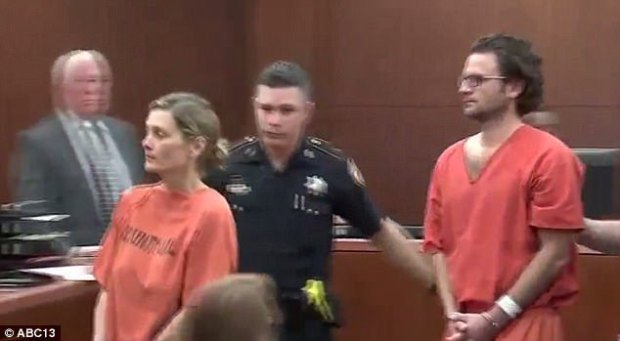 Valerie Busick McDaniel and boyfriend Leon Phillip Jacob arraigned in court