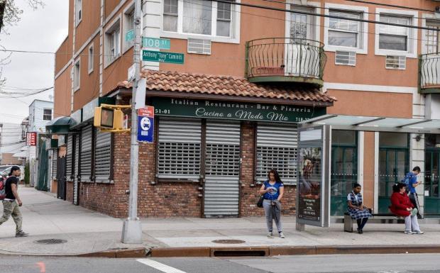 Italian restaurant, Cucina a Modo Mia, in Corona1.jpg