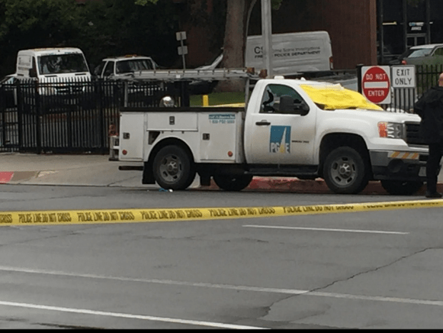One victim was shot while sitting in a PG&E truck1