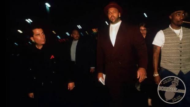 Reggi White, Tupac Shakur and Suge Knight1.jpg