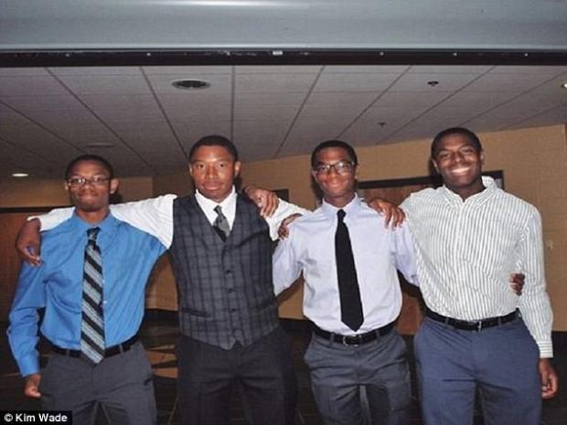 Aaron, Nick, Nigel and Zachary Wade