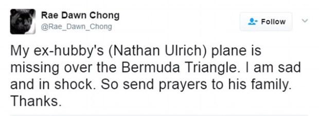 Actress Rae Dawn Chong's tweet.jpg