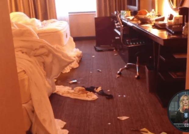India Ali's apt after the assault by James Baker2