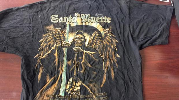 La Santa Muerta teeshirt1.jpg
