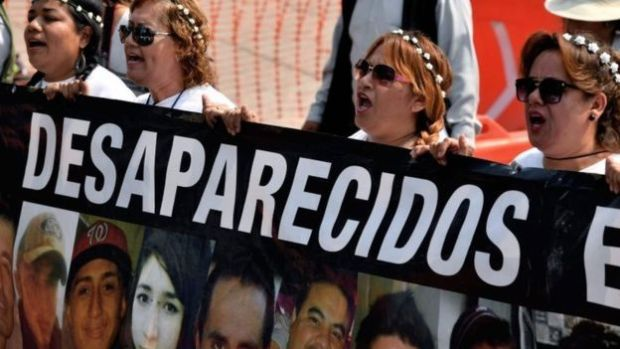 Mothers with missing childremn stage a protest in mexico seeking to know the fate of their missing sons.jpg