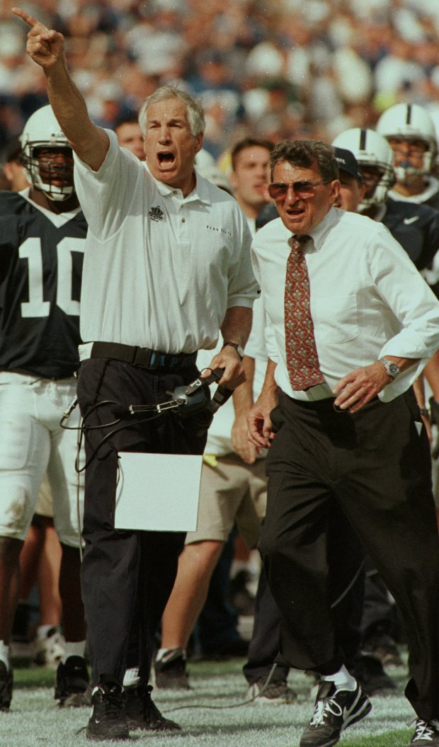 Former Penn State defensive cordinator Jerry Sandusky and head coach Jo Paterno6.jpg