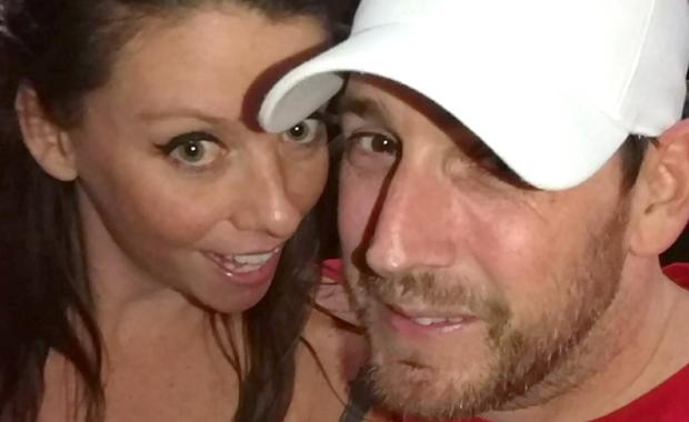 Scott Bowman [right]was shot and killed in front of his fiancée Chelsea