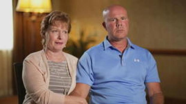 Cindy and Michael Rondini, parents of Megan Rondini