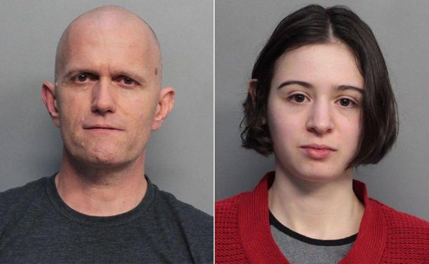 Dale Leary (left) is accused of molesting the sister of his wife Marta San Jose