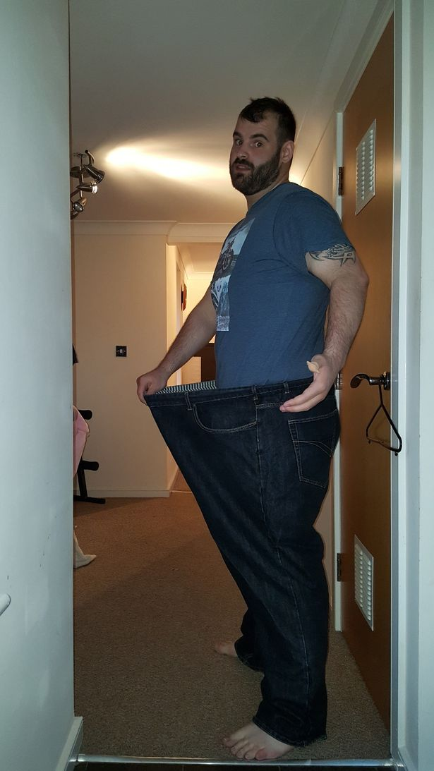 He has now lost 12 stone in just 18 months