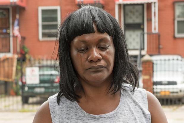 Patricia Scott, Ramel Patterson's mum said her son's girlfriend  had struggled with mental illness.jpg