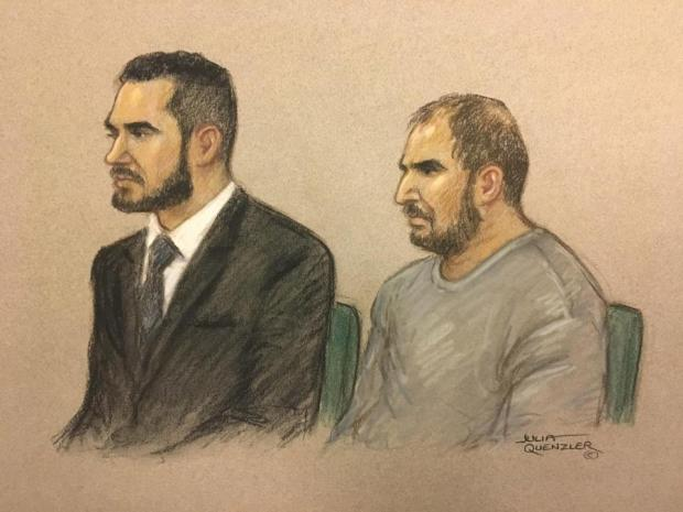 Sketch of Vincent Tappu and Mujahid Arshid aka Hussain in court.jpg