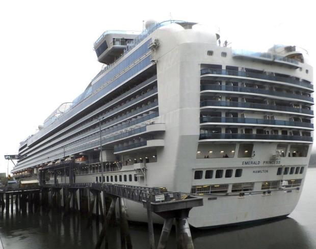 The Emerald Princess cruise ship 3