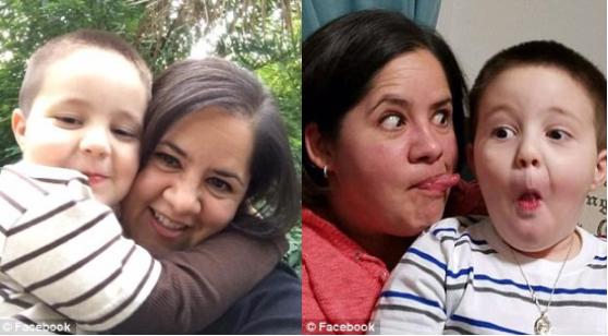 Andressian Jr. and mom Ana Estevez 1