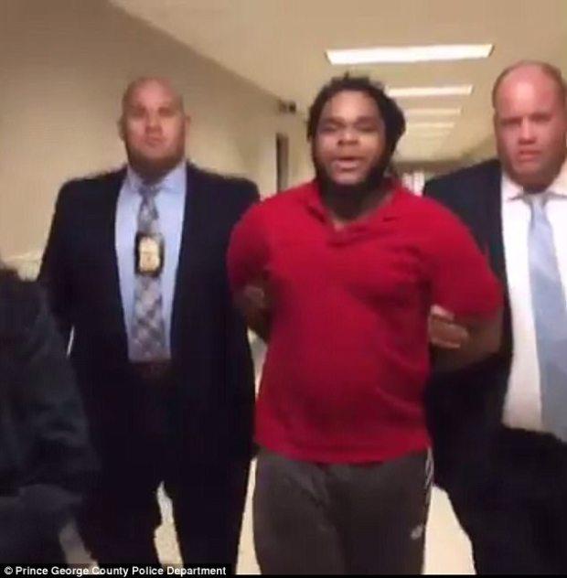 Antonio Williams in custody 3