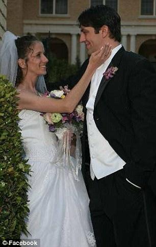 Beth and Paul Wilson on their wedding day 4