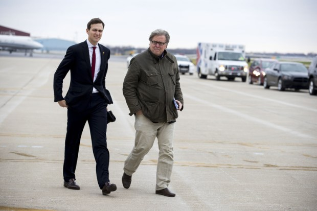 Chief Strategist Stephen Bannon [right], and Senior Advisor Jared Kushner [left] 2.jpg