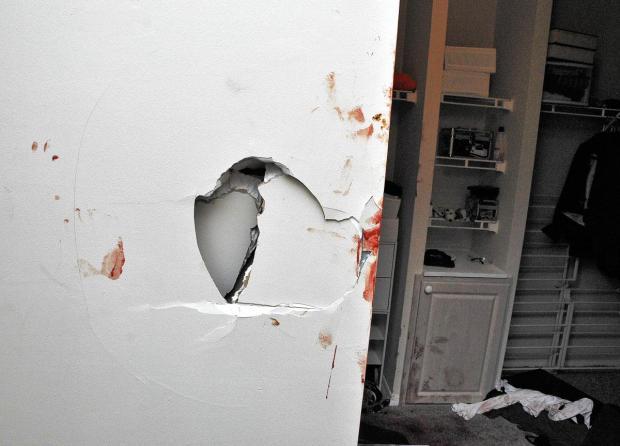 Crime scene photo from inside Fidel Lopez's apt at Colonnade Residences in Florida.jpg