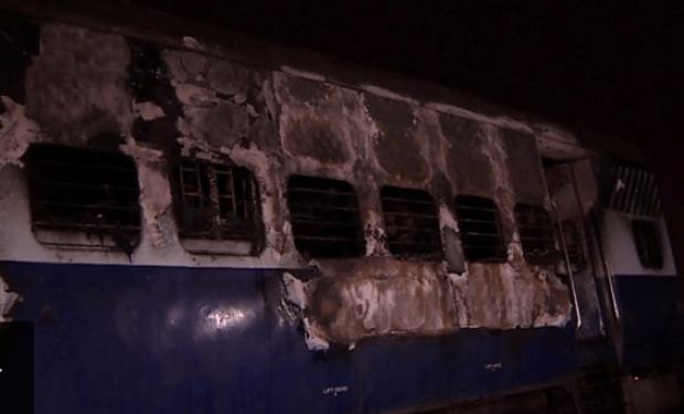 Destruction in the wake of protests in Delhi after the verdict Ram Singh rape conviction verdict 1