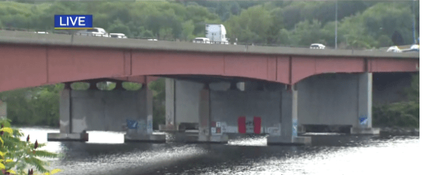 Lake Quinsigamond bridge 2