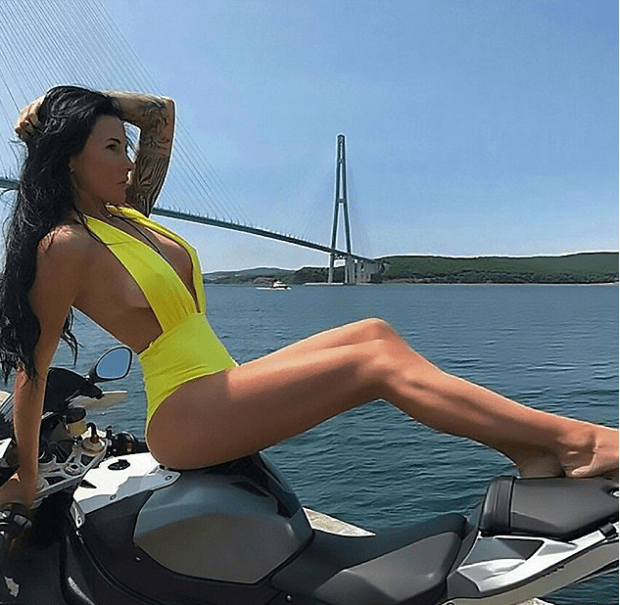 Olga Pronina was a social media darling with her raunchy outfits