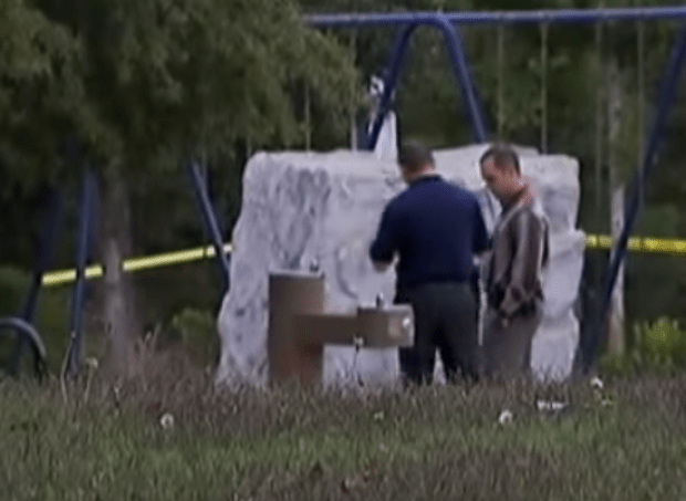 Police inspect spot where Taylors charred remains was found 1.png
