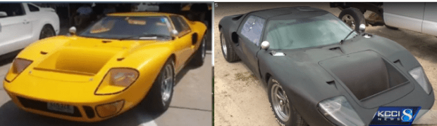 Rare Ford GT40 in yellow and black.png