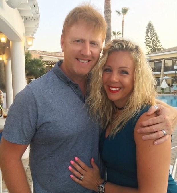 Sarah and Gareth Barton on vacation a week and a half ago .jpg