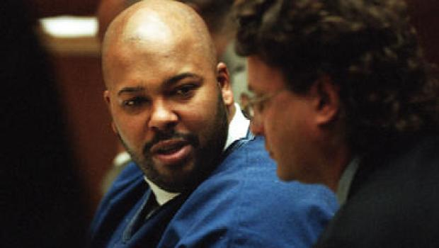 Suge Knight [left] at his 2015 arraignment 1.