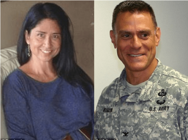 Susan Shannon and Army Colonel Wil Riggins 1.png