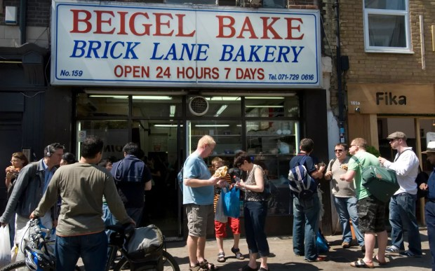 The family run the Beigel Bake business in London's Brick Lane