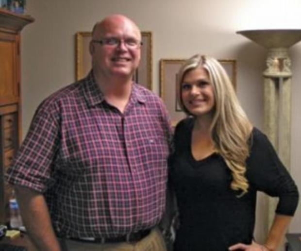 Crystal McDowell was raised by her uncle Jeff Walters, seen [right] wth Crystal. He is keen on prosecuting anyone involved in the disappearance of his niece