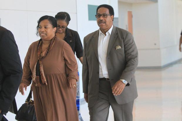 Deborah (left) and William Sutton, parents of Angelikque Sutton