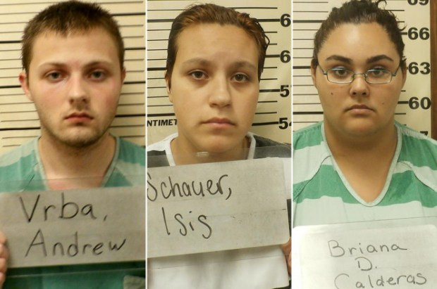 [L-R] Andrew Vrba, Isis Schauer and Briana Calderas 1